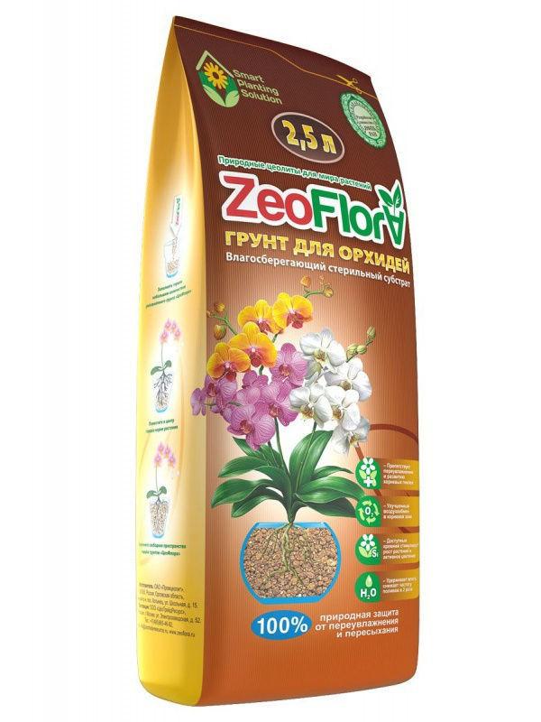 Влагосберегающий грунт для орхидей