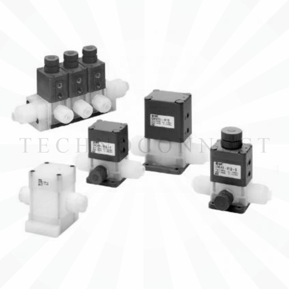 LVC20-S04-1-Z   2/2-Клапан, хим. чистый, пневмоупр., с рег. расхода
