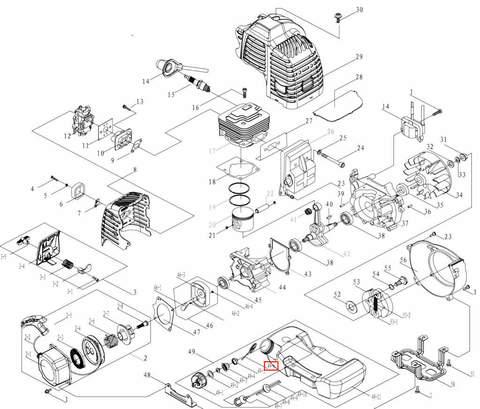 Кольцо для лодочного мотора T3,5 Sea-PRO