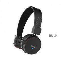 Наушники Bluetooth HOCO W19 Easy Move, (BT4.2, 6H) black