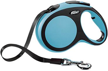 Рулетки Поводок-рулетка Flexi New Comfort L (до 50 кг) лента 8 м черный/синий c0d0478b-3797-11e6-80f8-00155d29080b.png