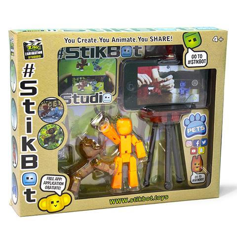 StikBot - Студия с питомцем Pets