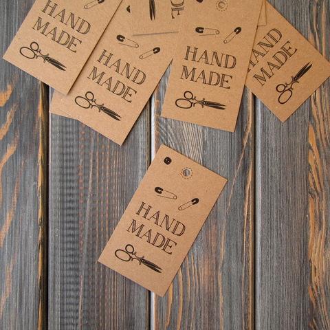 Бирки-крафт HAND MADE