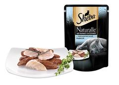 Sheba Naturalle Цельные кусочки с океанической рыбой 80 г