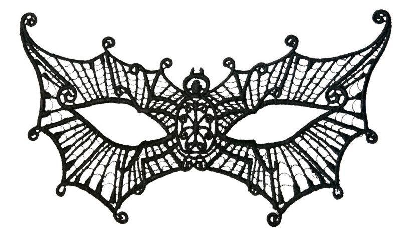 Перчатки и аксессуары: Нитяная маска в форме паутинки
