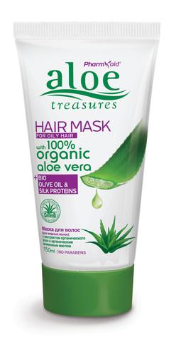 Маска для нормальных и жирных волос ALOE TREASURES от Pharmaid