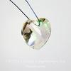 6228 Подвеска Сваровски Сердечко Crystal Luminous Green (18х17,5 мм)