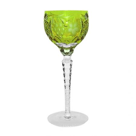 Фужер для красного вина 230мл Ajka Crystal Grape светло-зеленый