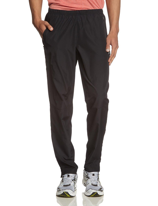 Мужские беговые брюки Asics Woven Pant (110418 0904) черные фото