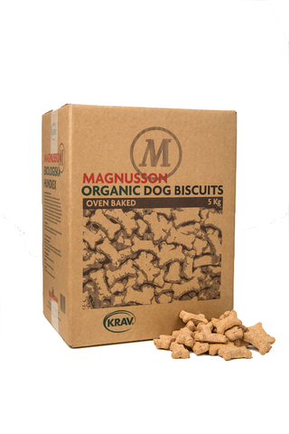 Magnusson Kex Organic Dog Biscuits - Small Bone