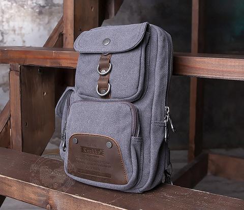 BAG411-3 Мужской городской рюкзак с одной лямкой на плечо