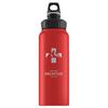 Бутылка для воды Sigg WMB Mountain, 8744.90, красный, 1 л