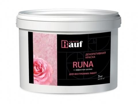 Rauf Dekor RUNA декоративная краска, эффект шелка