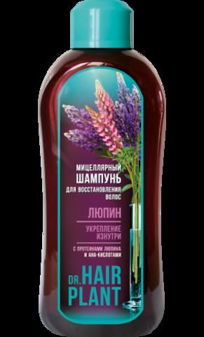 Floralis Dr.Hair Plant Шампунь мицеллярный Люпин для восстановления волос 1000г