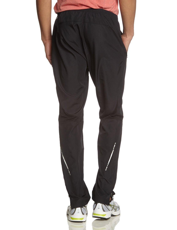 Мужские беговые брюки асикс Woven Pant (110418 0904) черные