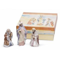Lladro 1007812 — Композиция SET THREE WISE MEN PORCELAIN