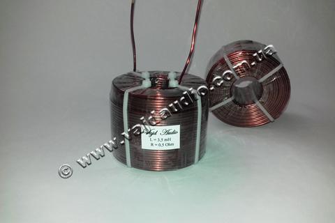 Катушка индуктивности Vajd Audio 3.5 mH* 0.5 Оhm* 1.6 mm
