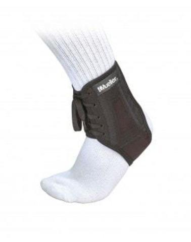 43004 XLP Ankle Brace, SM, Фиксатор голеностопа на шнурке, жесткий, черный