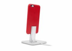 Подставка Twelve South HiRise Deluxe V2 для iPhone и iPad. Материал сталь. Цвет серебряный