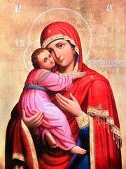 Икона Владимирская №19