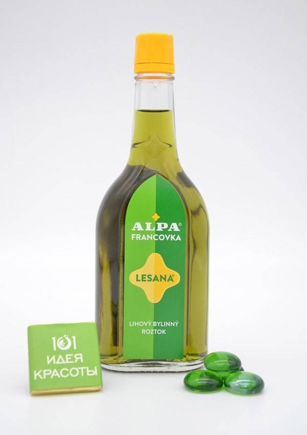 Alpa францовка Лесана 160 мл - спиртовой травяной раствор (при ревматизме и простудах)