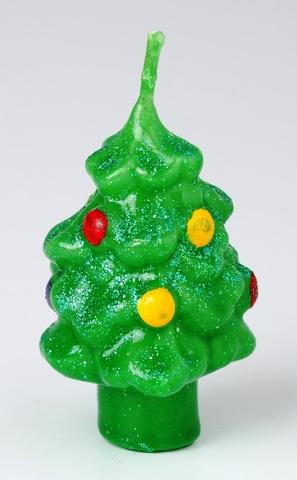 Свеча рождественская Елка № 3