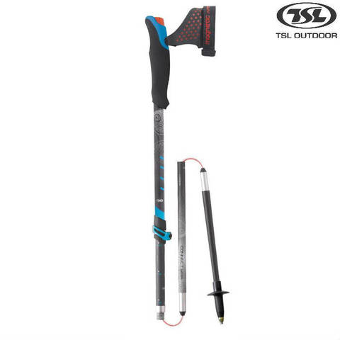 Скандинавские палки TSL Connect Vario Instructor 110-130 cm Франция