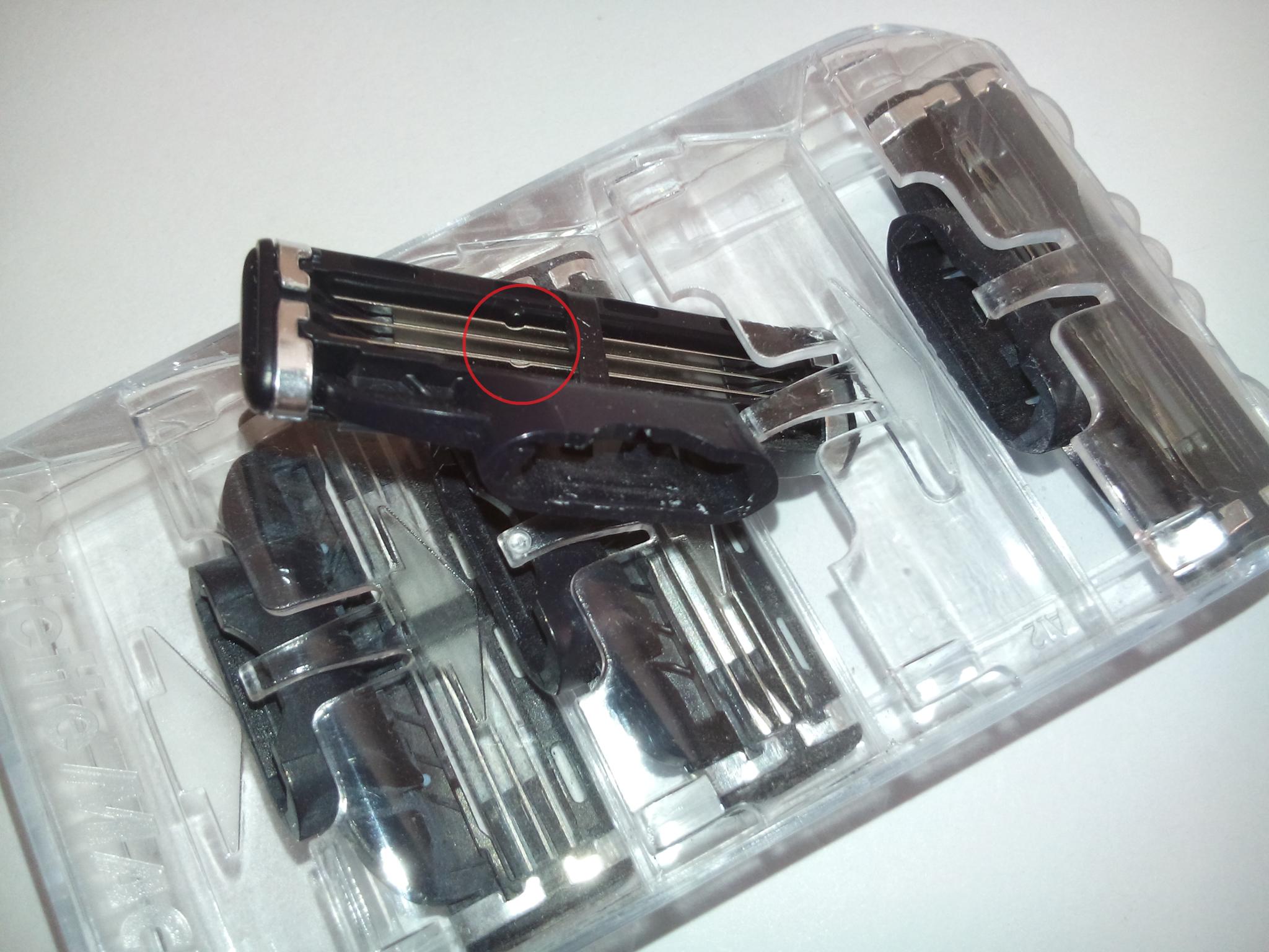 Лезвия для бритья Gillette mach3 4 шт.(ЭКОНОМ)