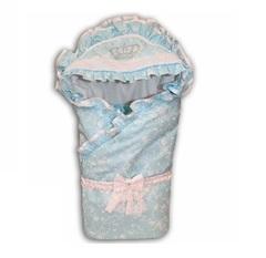 Конверт для новорожденных Шедевр голубой