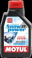 Моторное масло Motul Snowpower 2T (1л)