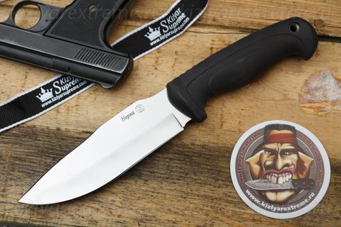Туристический нож Нерка Полированный Эластрон