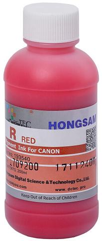Чернила DCTec PFI-1700R красный (red). 200мл пигмент (193540)