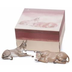Lladro 1007810 — Композиция SET ANIMALS AT BETHLEHEM PORCELAIN