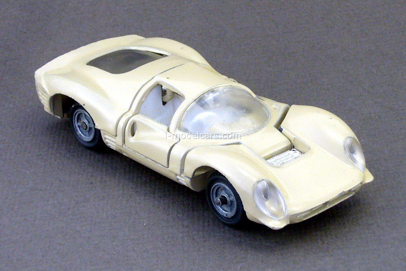 Ferrari P4 (Ferrari 330 P4) #A-27 beige USSR remake 1:43