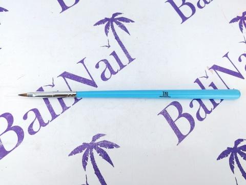 TNL Кисть для рисования тонкая (голубая)