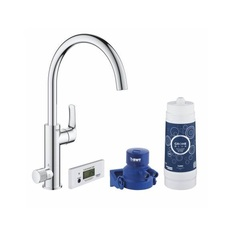 Смеситель для кухни с функцией фильтрации воды Grohe Blue Pure Eurosmart 30383000 фото