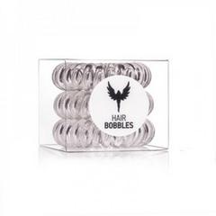 Силиконовая резинка для волос Hair Bobbles  - Прозрачная, 3 шт