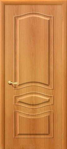 Дверь Дера Леона, цвет миланский орех, глухая
