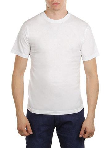 5105-5 футболка мужская, белая