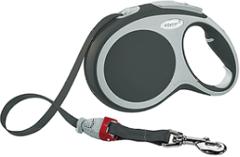Поводок-рулетка Flexi VARIO L (до 50 кг) 8 м лента антрацит