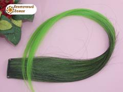 Канекалон омбре зелено-салатовый