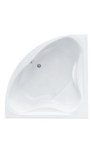 Акриловая ванна Santek Сан-Паулу 150х150 симметричная белая 1WH302399