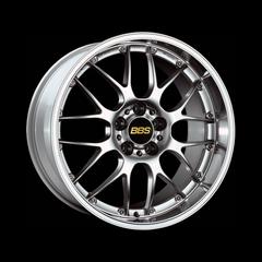 Диск колесный BBS RS-GT 10x20 5x120 ET22 CB82.0 brilliant silver/diamond cut