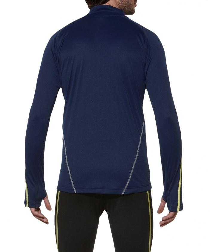 Мужская  рубашка для бега Asics LS 1/2 Zip Top (124754 8052)