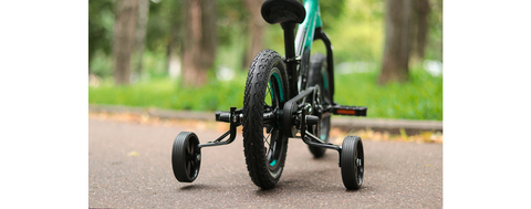Тренировочные боковые колеса с осью