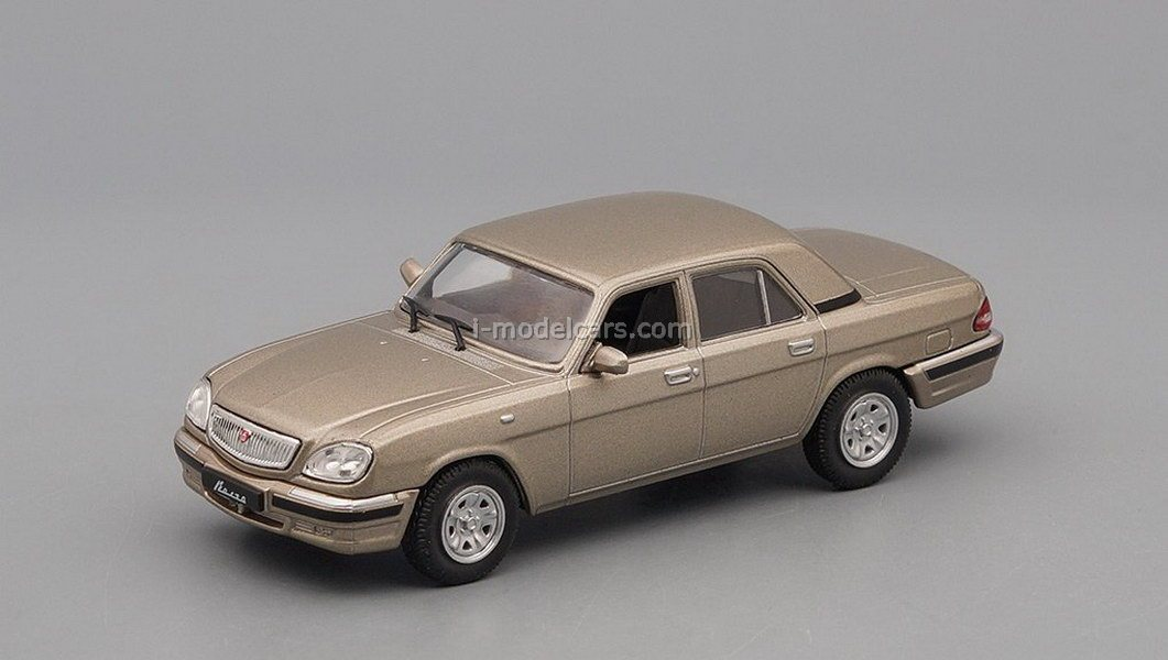 GAZ 21 AND Volga Auto Legends of USSR  1:43 DeAGOSTINI