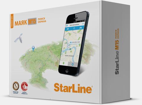 GPS маяк StarLine Маяк M15 Эко