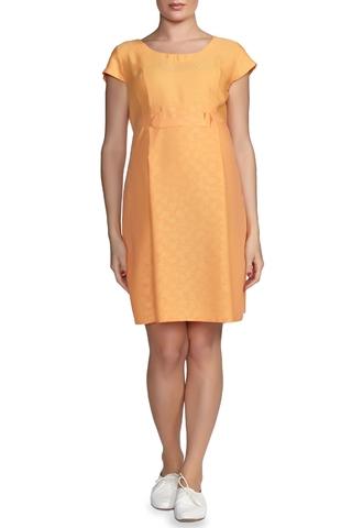 Платье 05996 оранжевый