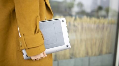 Невидимая подставка для ноутбука Moft Stand