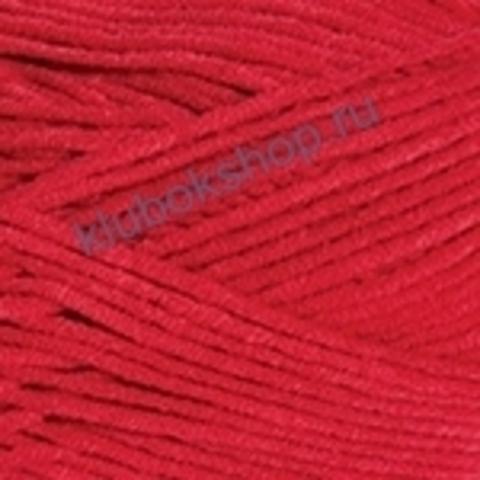 Пряжа YarnArt Jeans PLUS 64 Красный